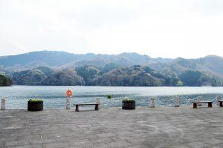 相模湖公園からの相模湖