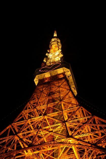 東京タワー ピンクのハート